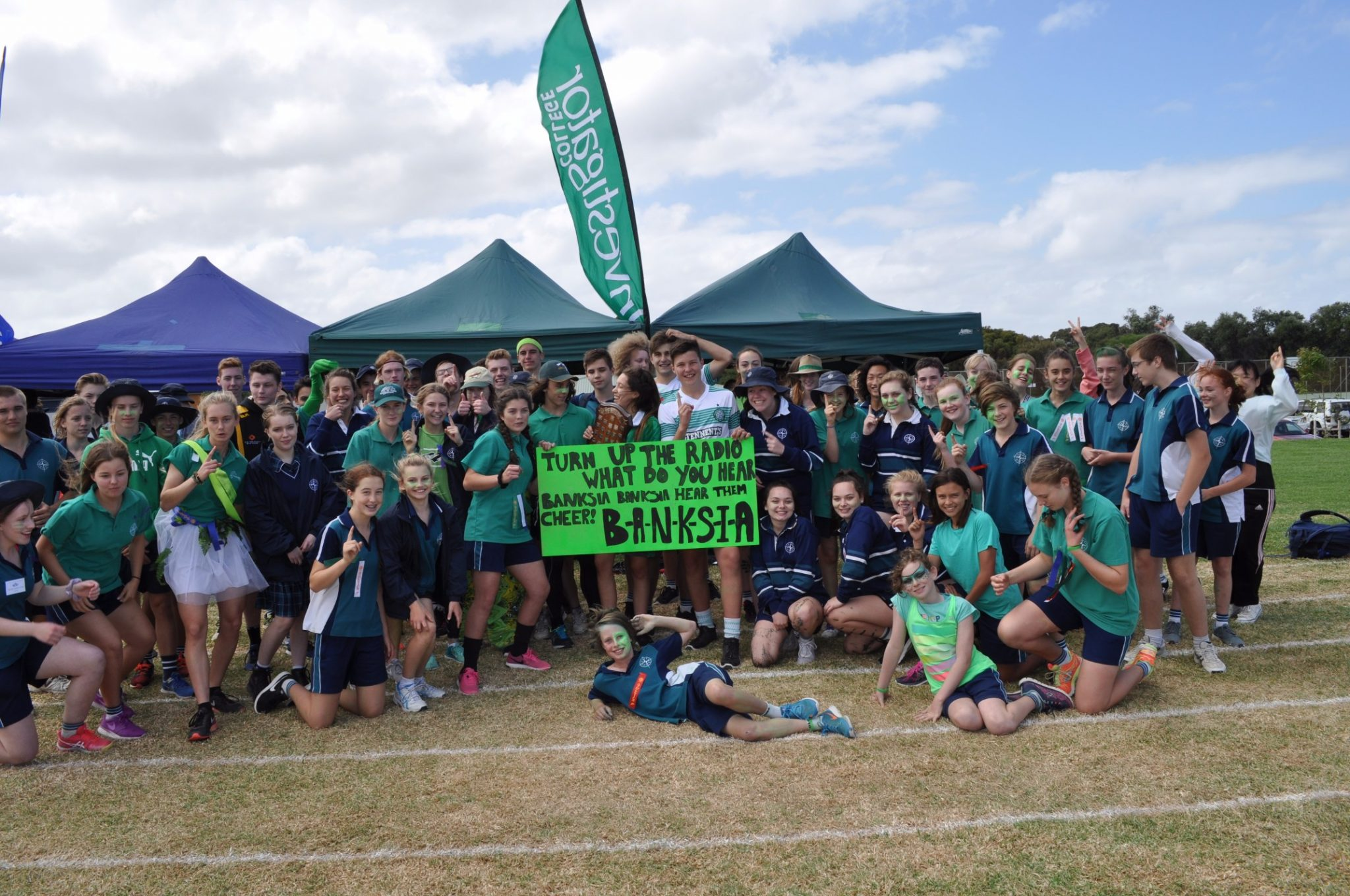 Banksia victorious at Middle/Senior School Athletics Day!