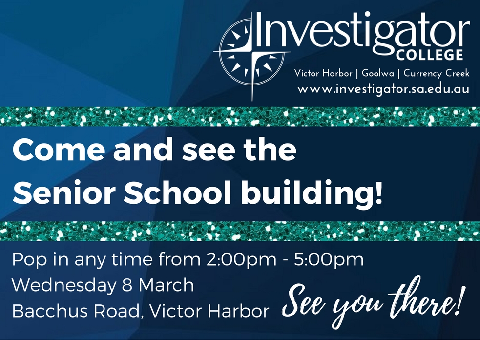 Come and see our new building!