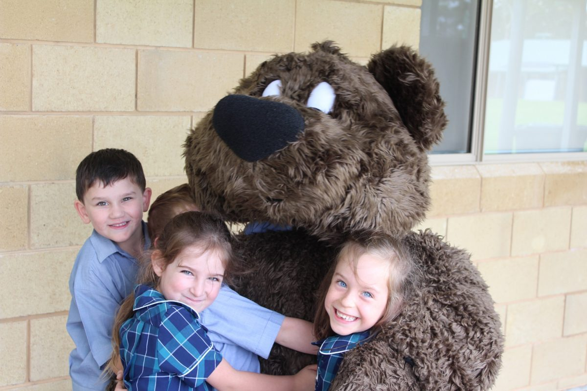 A Visit From The Very Cranky Bear!