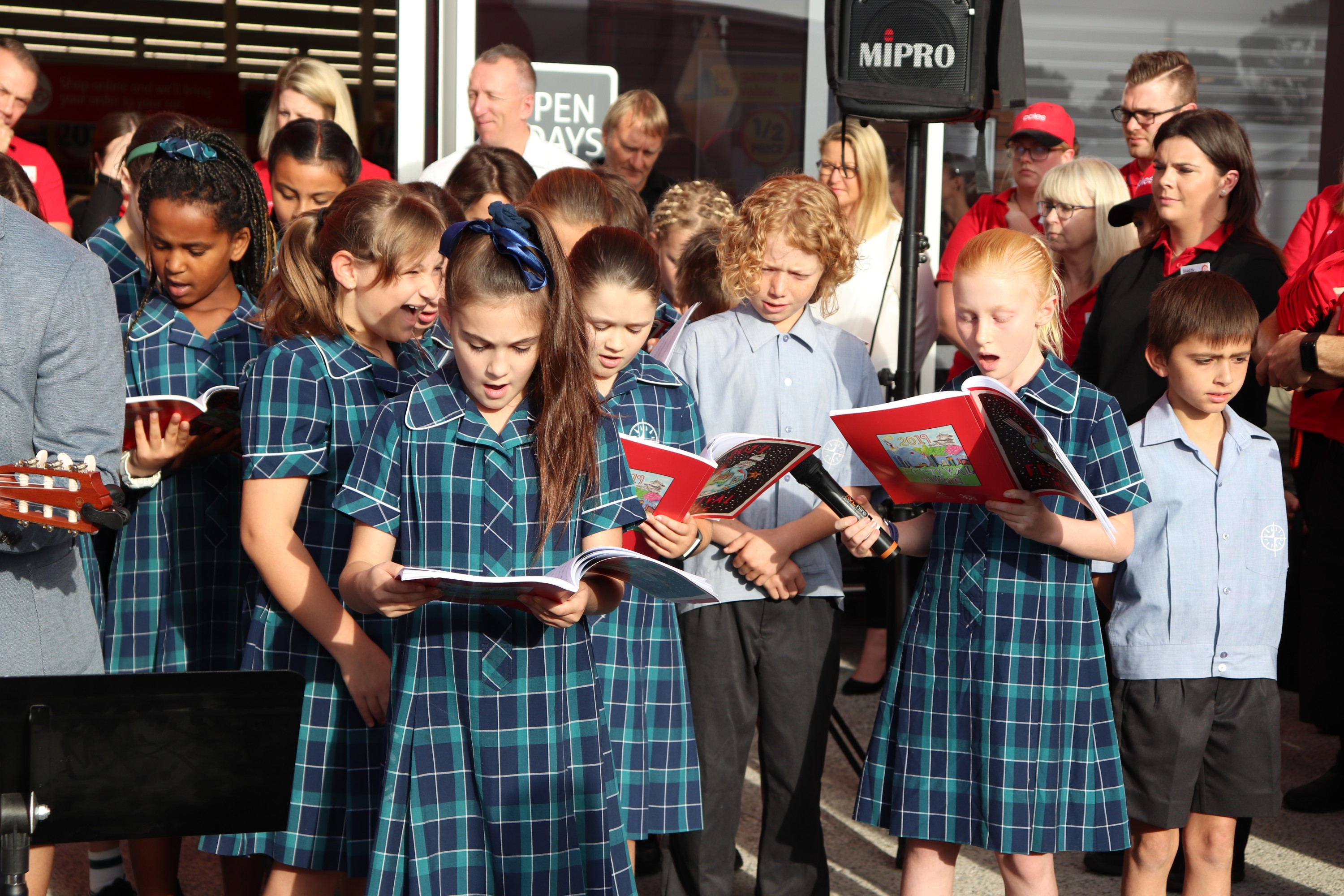 Junior Choir | Coles Grand Opening | 2019
