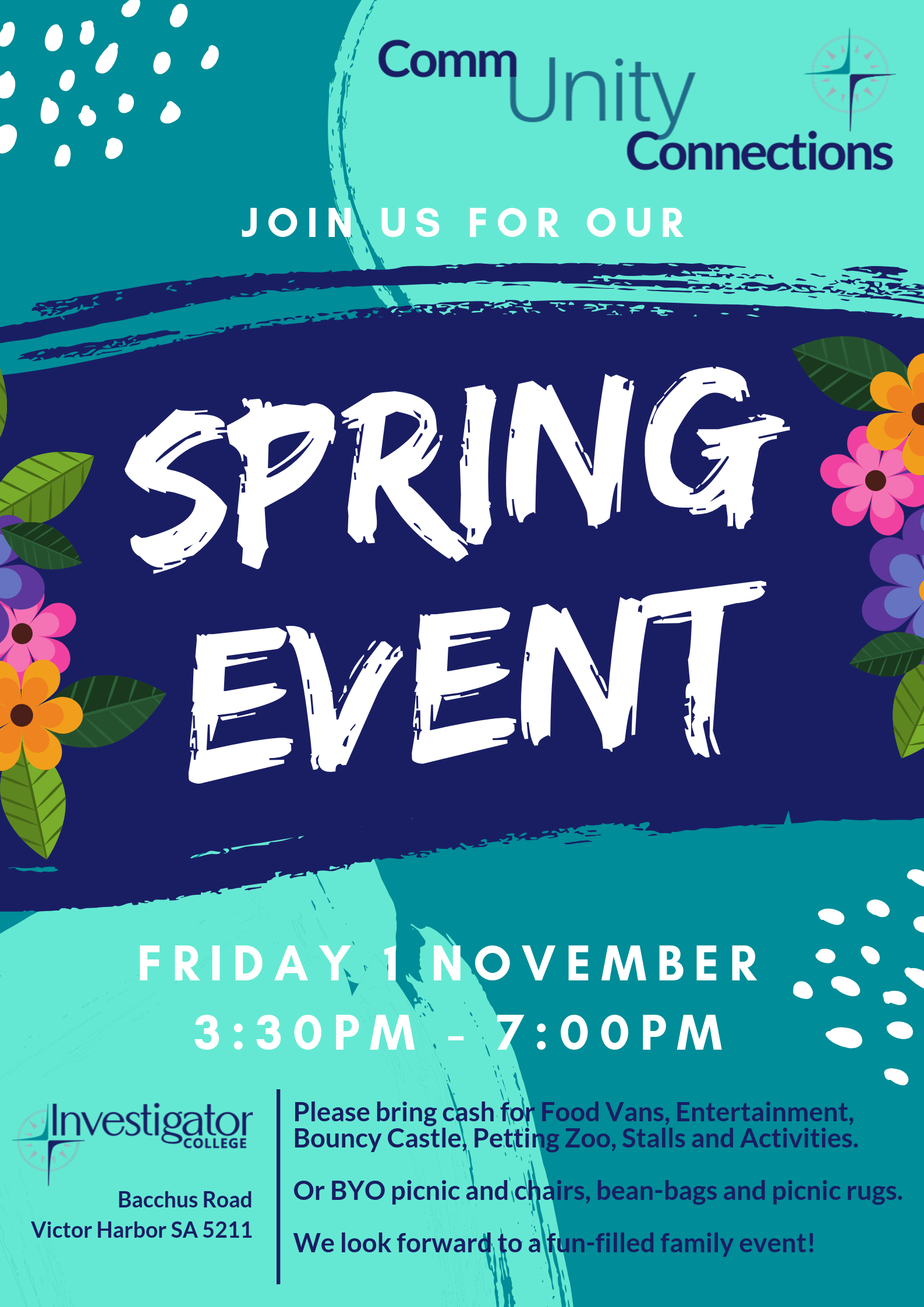 Join us for our Spring Event!