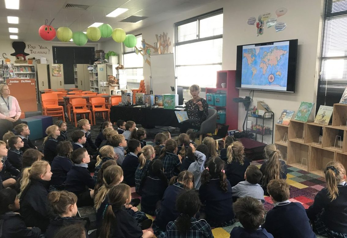 A Visit From Jane Jolly | Book Week | 2020
