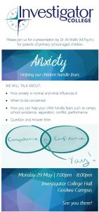 Anxiety Presentation- Session Notes