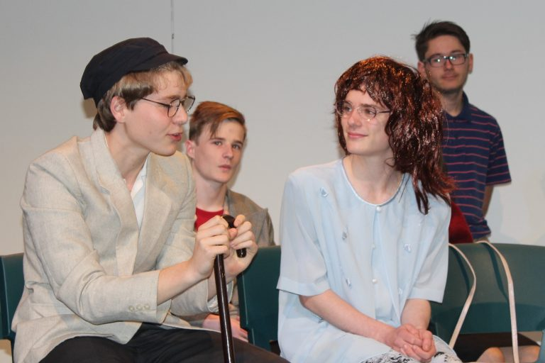 Year 11 Drama Production   Between These Lines