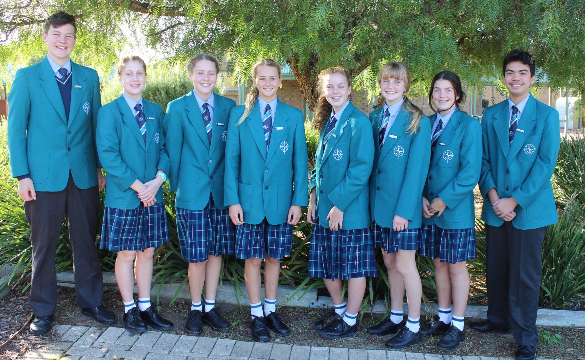2017 Middle School House Captains