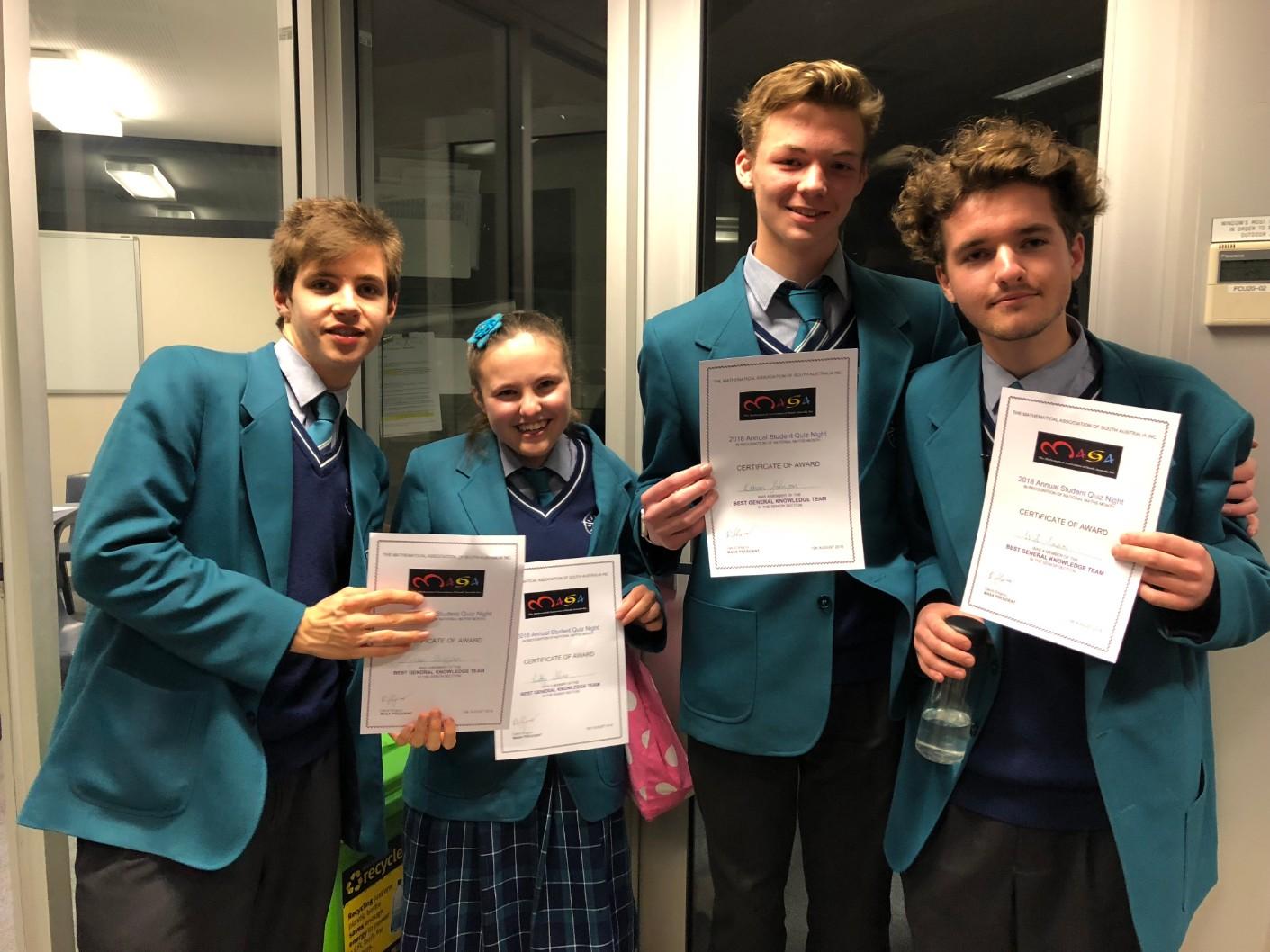 MASA Quiz Night Success
